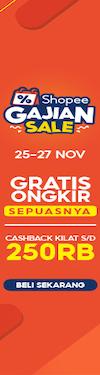 November Shopee Gajian Sale